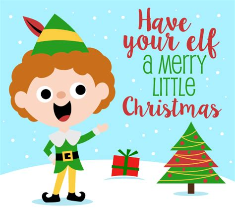 elf  merry christmas wishes ecards greeting cards