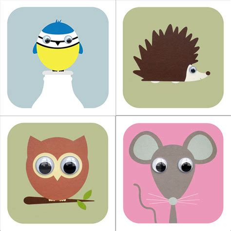 Animal Gift Card - woodland animal cards by stripeycats notonthehighstreet com