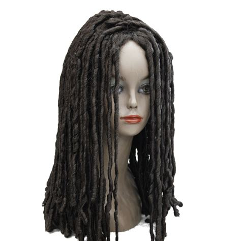 dreadlock wigs for african american dreadlock dread wig lace colorful cheap wigs