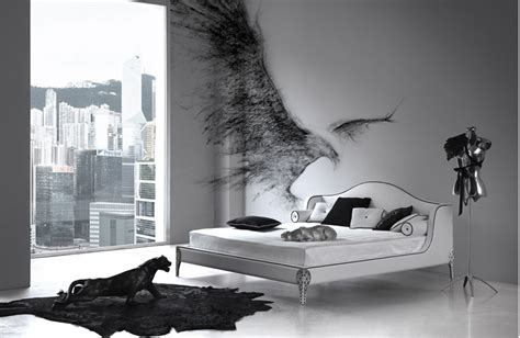 black and white bedroom design inspiration digsdigs - Black White And Bedroom Designs