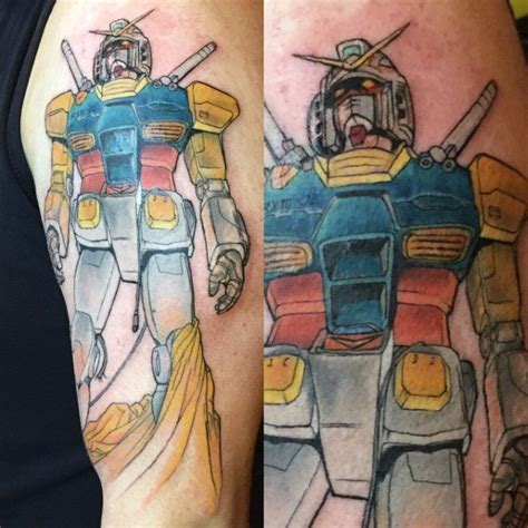 gundam tattoo 50 gundam designs for robot ink ideas