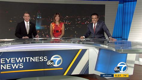 abc 7 news los angeles world news los angeles abc upgrades set design graphics newscaststudio