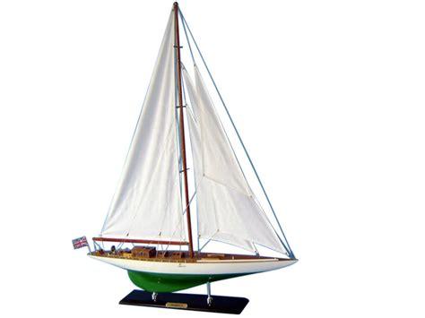 class yacht ranger  americas cup  yacht ranger wooden sailboat model