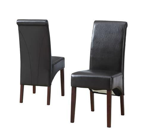 Amazon Com Simpli Home Avalon Deluxe Parson Dining Chair Parson Dining Chair