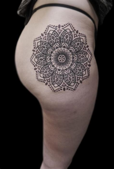 line work tattoo line work dotwork ornamental mandala by obi tattoonow