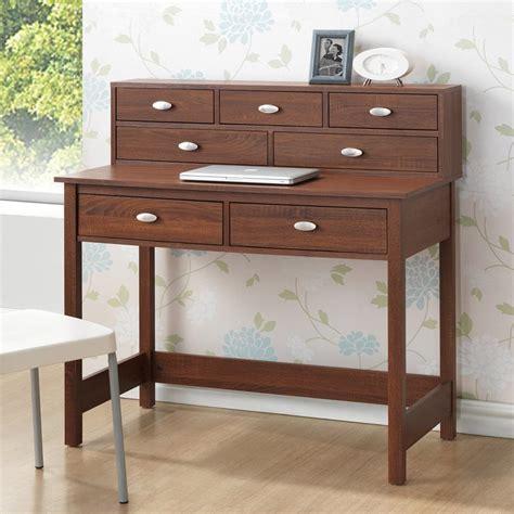 Shop Baxton Studio Mckinley Sonoma Oak Writing Desk At Oak Studio Desk
