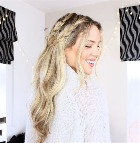 Braided Hairstyles For Hair Easy by 3 Easy Braided Hairstyles Luxy Hair