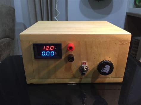 diy bench power supply arduino variable bench power supply bench electronics projects