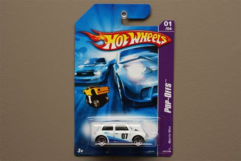 wheels 2007 pop offs series morris mini cooper white