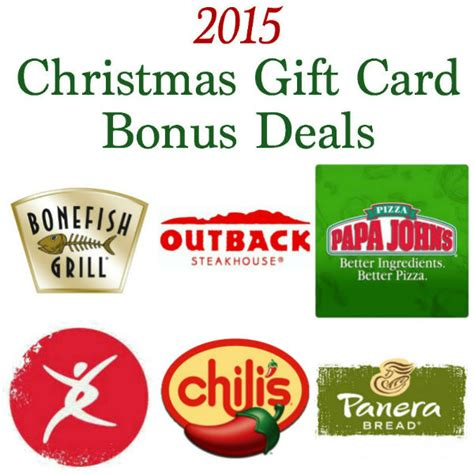 Gift Card Bonus 2014 - 28 best deals on gift cards for christmas check out these holiday gift card deals