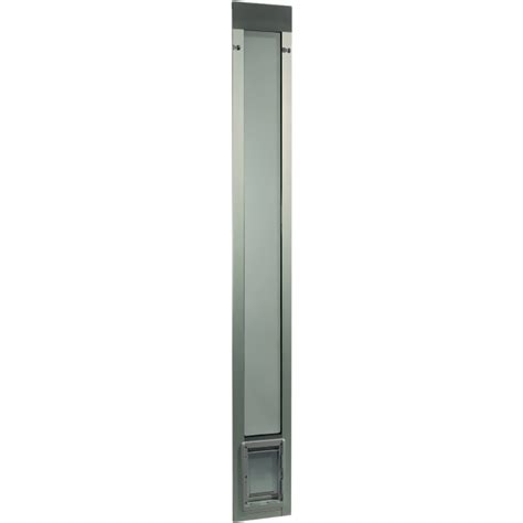 fast fit pet patio door 80 quot small mill entirelypets