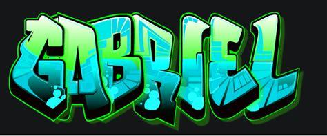 Imagenes Que Digan Gabriel   gabriel en graffiti imagui