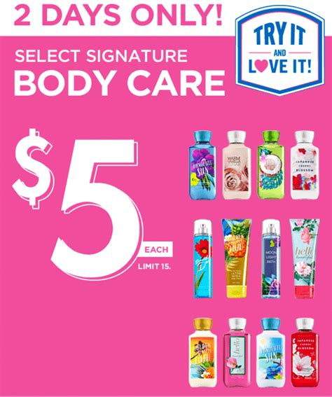 bed bath and body works hours bath body works canada offers coupons 10 off any 30