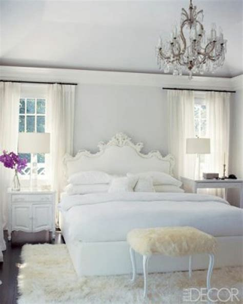 white bedroom chandelier glamorous white bedrooms