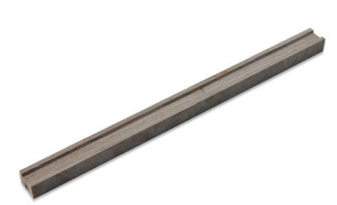 shop 3 4 x 5 8 x 12 wooden beige honed marble pencil tile liner at tilebar com
