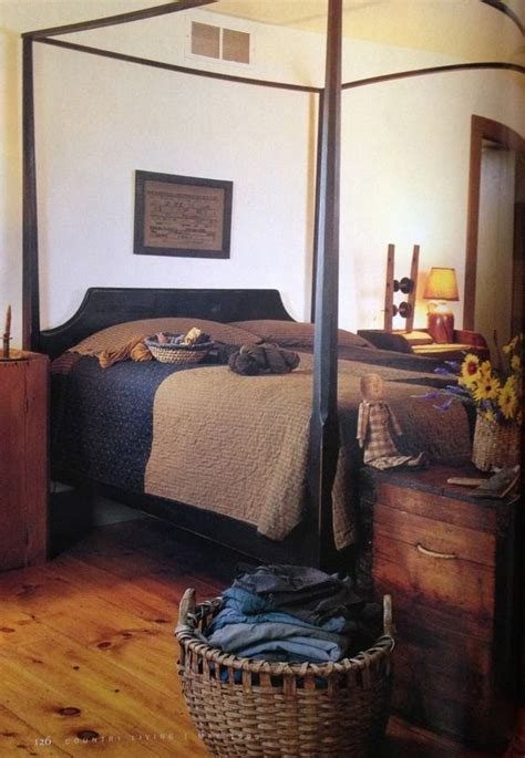 primitive bedrooms primitive bedroom primitives and black love on pinterest