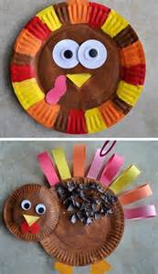 Paper Turkeys Kid Crafts - thanksgiving thanksgiving crafts for toddlers and for