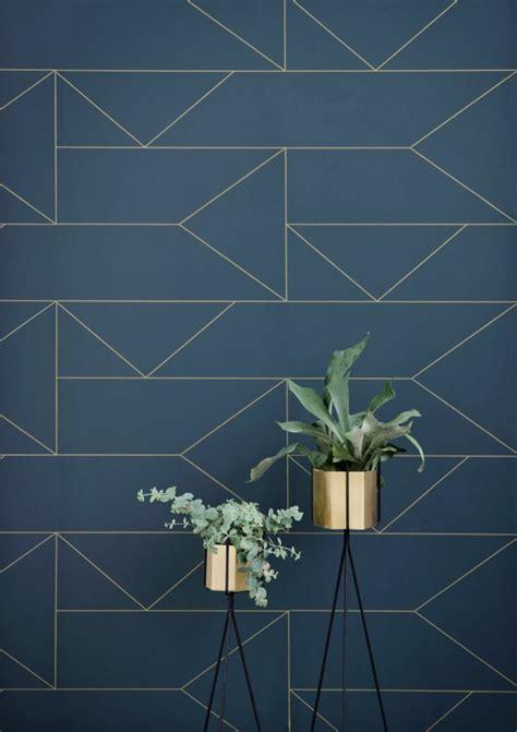Tapisserie Geometrique by Le Papier Peint G 233 Om 233 Trique En 50 Photos Avec Id 233 еs