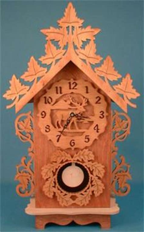 wildlife pendulum clock patterns