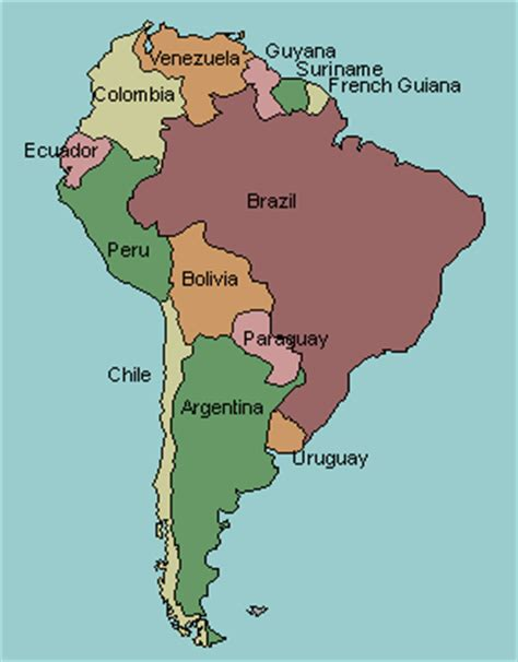 test your geography knowledge south america countries