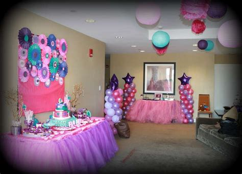 Pink Purple Baby Shower Decorations by Pink Purple Turquoise It S A Baby Shower Ideas