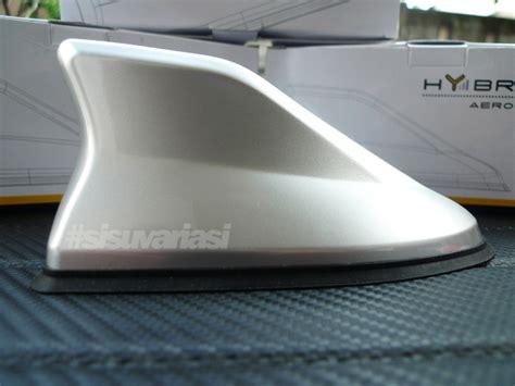 Antena Mobil Avanza Jual Antena Sirip Hiu Js Racing Silver Sisu Variasi