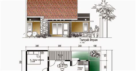 gambar desain rumah minimalis sketsa denah rumah sederhana free