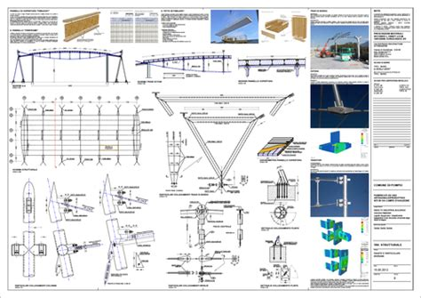 tavola strutturale foglieri ingegneria capannone in acciaio l idea