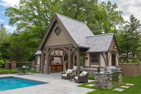 mid country english tudor revival manor designed