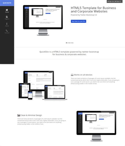 jquery html templates 33 best jquery html5 themes templates 2017