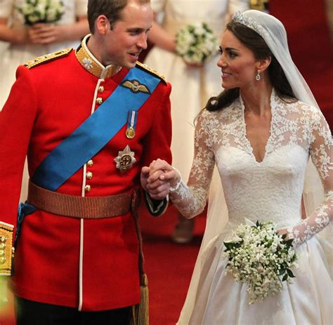 Hochzeit William Kate by Kate Und William Was Die K 246 Rpersprache Des Brautpaares