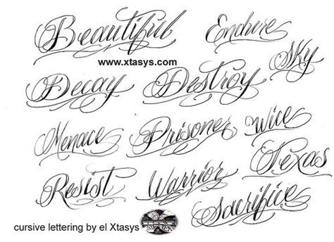 tattoo fonts running writing this cursive for my s names ideas