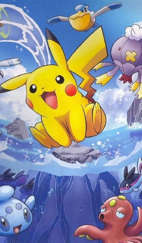 wallpaper pokemon art hd  android apk