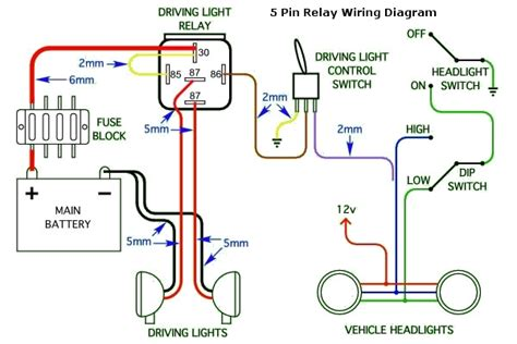wiring diagram hid lights relay efcaviation