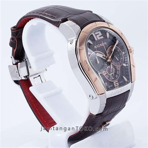 Jam Tangan Cowok Pria Aigner Palermo Rt Grade Premium Aaa 2 harga sarap jam tangan aigner palermo coklat gold kw grade aaa