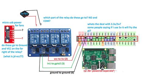 4 relay module wiring diagram 29 wiring diagram images