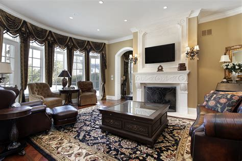 family room design with tv 47 luxury family room design ideas pictures
