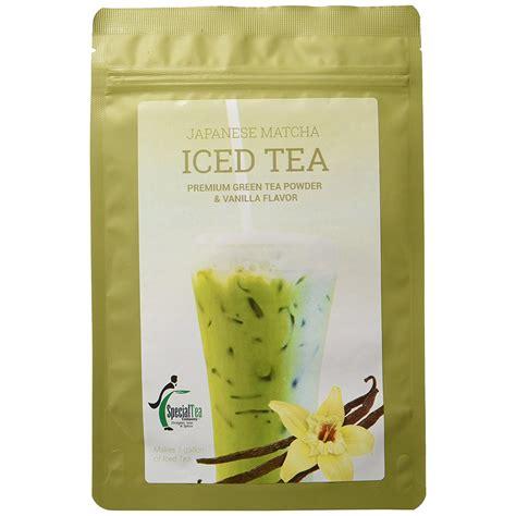Esprecielo Vanilla Green Tea Latte Eco Bag 14 Sachet 24gram japanese matcha organic green tea powder vanilla iced tea specialty tea company