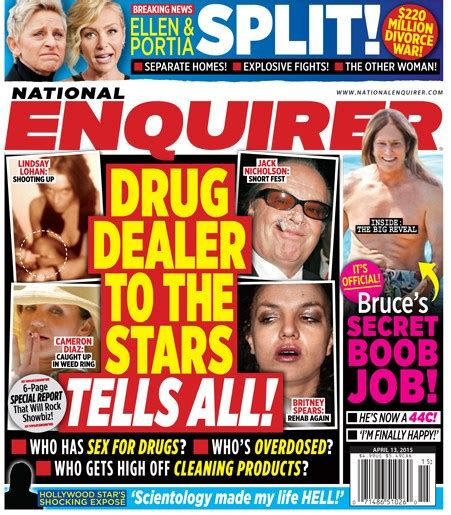 A National Enquirer Exclusive What Really Happened To Make Oneal Go Berserk by World Exclusive Dealer To The Tells All