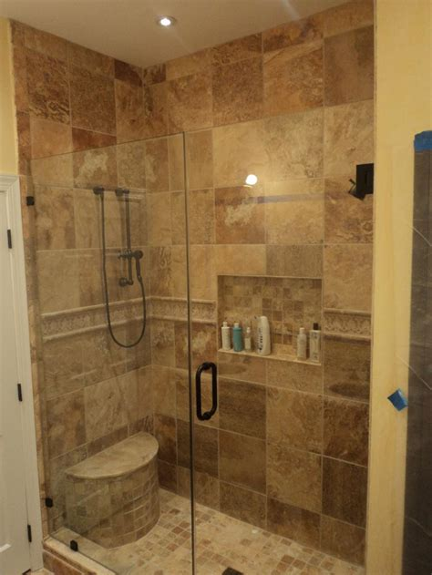 Discount Bathroom Showers Stand Up Shower Designs Bathroom Exquisite Bathrooms Look Using Rectangular Glass Shower