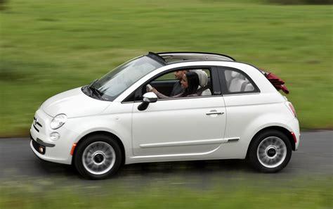 2012 fiat 500 cabriolet best gas mileage 4 seat