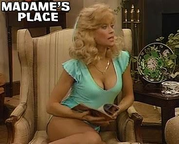 Bj 8873 Big Flower Top madame s place judy landers sitcoms photo galleries