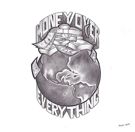 hustle tattoo designs money everything money everything quot by