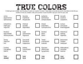 true colors best 25 true colors personality test ideas on