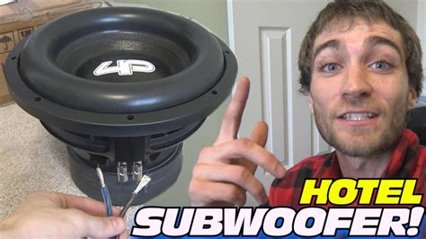 Subwoofer Ads 12 Coil Murah wiring hotel subwoofer w 12 quot droppin hz car audio sub