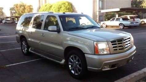 blue book value for used cars 2005 cadillac escalade esv electronic toll collection sell used 2005 cadillac escalade esv platinum cheap 2 300 under blue book value in scottsdale