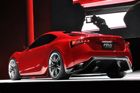 Toyota Fsr 2011 New York Auto Show Scion Fr S Coupe Concept