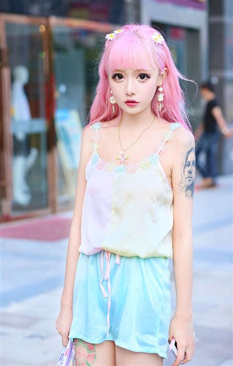 Korea Pink pink hair korean fashion pink hair korean fashion