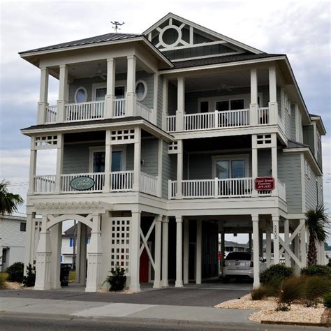 Cherry Grove Beach House Rental Family Friendly 5 Br Home Houses For Rent In Cherry Grove Sc