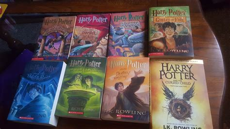 harry potter picture books my harry potter book collection doovi